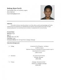 resume sample for resume resume template 5 classic resume job resume sample for resume resume template 5 classic resume job resume sample pdf college resume examples for high school students resume
