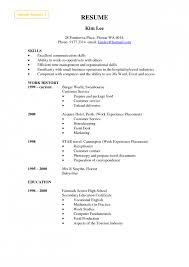 resume  example skills section resume  corezume coimages for example skills section resume