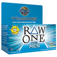 Garden of Life <b>Vitamin Code Raw One</b> for Men 75 Capsules ...