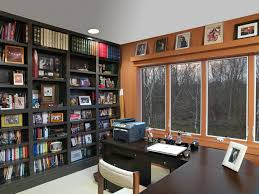 office wall shelving home office traditional with built in corner desk corner desk bookshelves office great