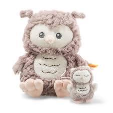 Soft Cuddly Friends Ollie <b>owl music</b> box - Steiff.com