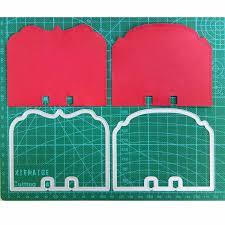 2pcs/set <b>memory dex</b> Rolodex Metal Cutting Dies Stencils for ...
