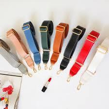 <b>130cm Shoulder Bag Strap</b> PU Leather Belt Adjustable Wide Strap ...