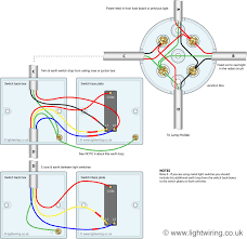 2 way switch (3 wire system, old cable colours) light wiring 3 Way Light Switch Wiring Diagram Uk 3 way switching wired to a loop in loop out radial lighting circuit 3 gang 2 way light switch wiring diagram uk
