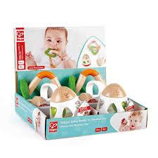 <b>Happy Baby Rattle</b> 'n' <b>Teether</b> Set | E0019 | Hape Toys