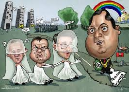 Image result for karikature dodik covic