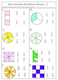 Fraction WorksheetsGrade two fraction worksheets 7 2nd grade fraction worksheets ...