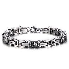 Effie Queen <b>New Fashion 316L Stainless</b> Steel Men's Charm ...