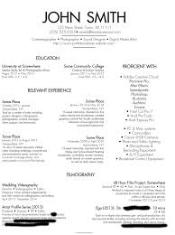 videographer photographer graphic designer resume please critique videographer photographer graphic designer resume please critique the hell out of this