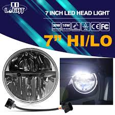 <b>CO LIGHT 7inch</b> Motorcycle Headlight 40W 20W 6000K IP68 Round ...