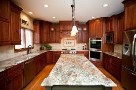 Small Picture Beautiful Woodridge kitchen remodel Cherry cabinets in shaker