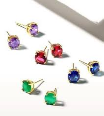 CZ Cubic Zirconia <b>925 Sterling Silver Stud</b> Earrings For Men ...