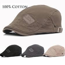 Thefound <b>2019</b> New <b>Cotton</b> Men <b>Beret</b> Cap Adjustable Hats Men Ivy ...