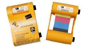 <b>Zebra</b> 800033-840, <b>полноцветная лента</b> для ZXP 3, YMCKO, 200 ...