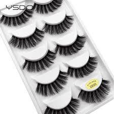 <b>YSDO Lashes 5 pairs eyelashes</b> natural false <b>lashes</b> mink ...