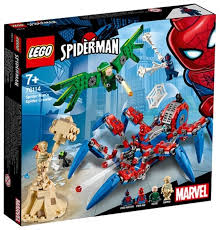<b>Конструктор LEGO</b> Marvel <b>Super Heroes</b> 76114 Паучий вездеход ...