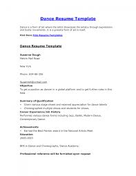 resume template dance resume template for film resume format on the melvin mall road film audition resume format