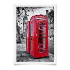 "Плакат A3(29.7x42) ""<b>Лондон</b>, телефонная будка"" #638192 от ..."