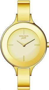 Женские <b>часы Romanson RM 8276 LG</b>(<b>GD</b>)