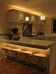 residential portfolio kitchens light iq indirect light by love the under light of island ceiling indirect lighting