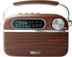<b>Радиоприемник Hyundai H-PSR 200</b> дерево коричневое ...