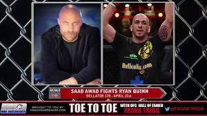 frequently asked questions frank trigg interviews bellator 178 s saad awad