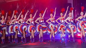 Moulin Rouge <b>cancan</b> dancers celebrate French cabaret's 130th ...