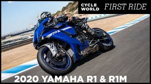 2020 <b>Yamaha YZF</b>-<b>R1</b> And YZF-R1M First Ride Review - YouTube