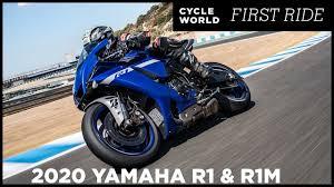2020 <b>Yamaha YZF</b>-<b>R1</b> And YZF-R1M First Ride Review - YouTube