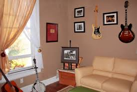 top music themed bedroom decorating