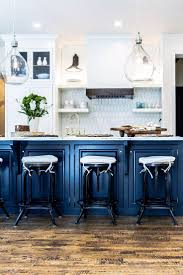 navy kitchen decor