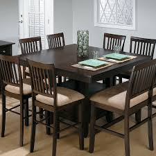 Dining Room Tables With Bench Jofran Trumbull Tile Top Counter Height Storage Dining Table