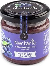 <b>Крем</b>-<b>мед Nectaria с черникой</b>, 230 г