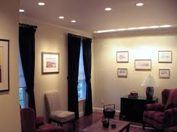 contemporary living room ceiling ambient lighting