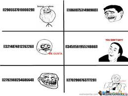RMX] Facebook Chat Codes For Rage Faces by madainker - Meme Center via Relatably.com