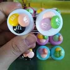 <b>LIUSVENTINA</b> Portable <b>DIY</b> Resin <b>Cute</b> Colorful <b>Rainbow</b> Contact ...
