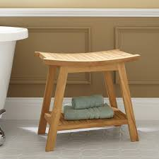 image quarter bamboo bathroom stool tandea teak shower stool  teak shower stool tandea teak shower stool