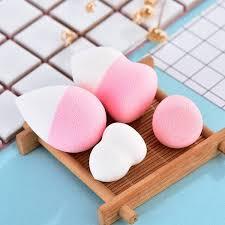 Buy 4Pcs/set Mini Beauty <b>Soft Makeup Sponge</b> Puff Face Nose ...