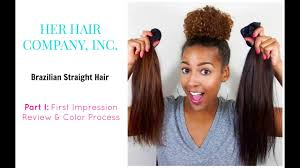 Her <b>Hair Company</b> | First Impression & <b>Color</b> Process - YouTube