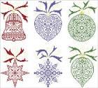 Снежинки схемы вышивания