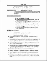building maintenance technician resume samples   Template aaa aero inc us