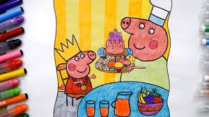 Как нарисовать Свинку пеппу бабушка свинья | <b>книжка</b> Раскраска ...