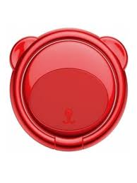<b>Кольцо</b>-<b>держатель Bear Finger</b> Metal Ring Grip Stand Holder Red ...