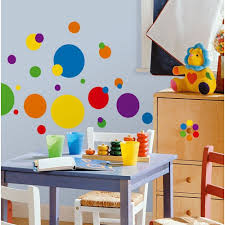 beautiful kids bedrooms photos decorationsbeautiful polka dot wall decals for kids rooms with green d