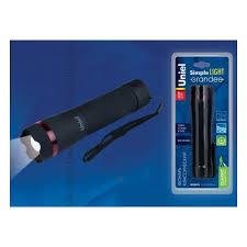 <b>Ручной светодиодный фонарь</b> (UL-00000791) <b>Uniel</b> от батареек ...
