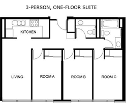 Floor Plan Archive   Graduate House p  f plan