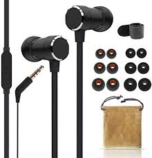 WalkerFit <b>Noodle Earphones In Ear</b> with Mic, Strengthen: Amazon ...