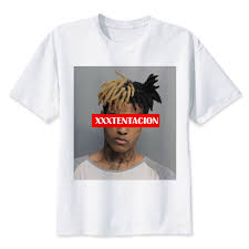 Xxxtentacion T shirt men t shirt fashion t shirt <b>O Neck white TShirts</b> ...