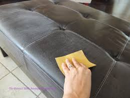 i sanded it for good measure annie sloan is really known for skipping this step can you paint leather furniture