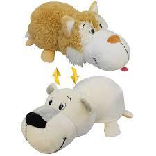 Купить игрушку <b>1Toy Вывернушка</b> 2 в 1 плюшевая (Бежевый ...